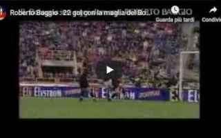 bologna calcio video roberto baggio