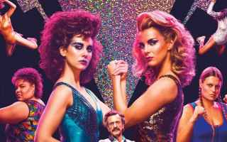 Serie TV : tv  serie  netflix  glow  televisione