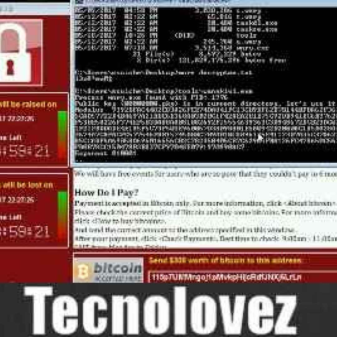 wannakiwi  recuperare file  criptati