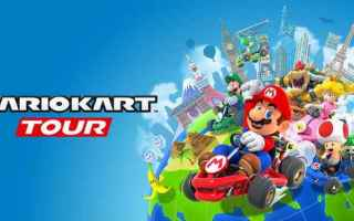 Mobile games: mario kart android iphone nintendo