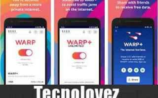 App: cloudflare warp vpn app