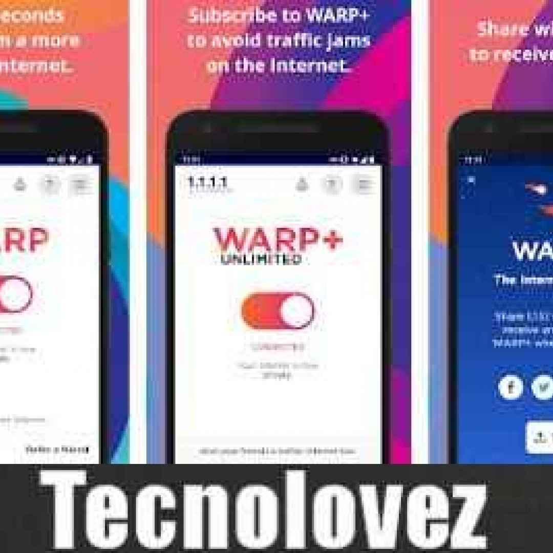 cloudflare warp vpn app