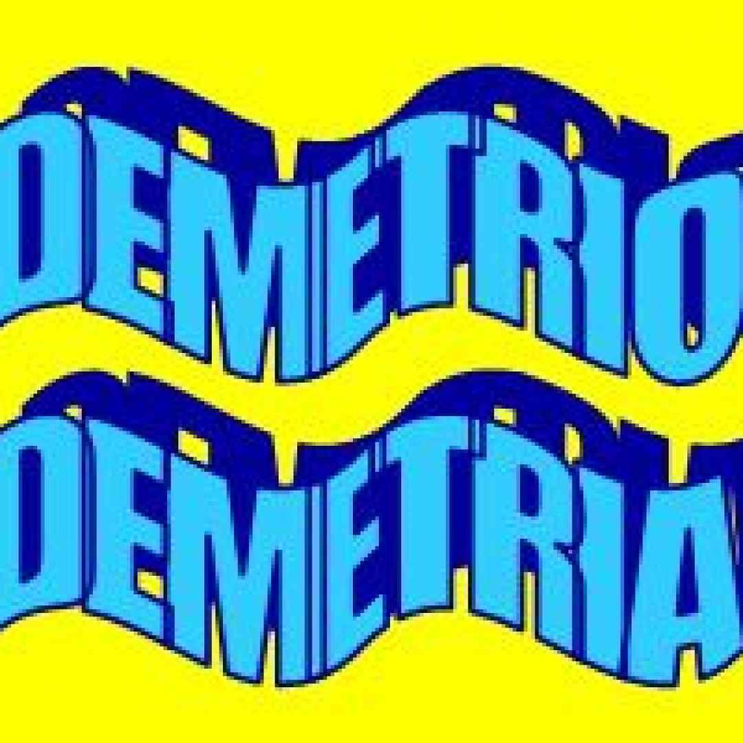 demetrio  significato  etimologia