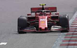 Doppietta della Ferrari nelle PL3, con Charles Leclerc 1.32.733 il più veloce che questo pomeriggio