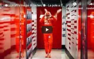 Formula 1: ferrari leclerc schumacher pole video