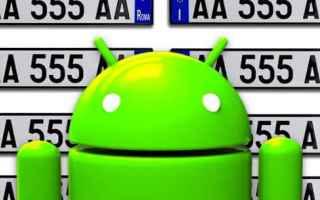Android: auto targa assicurazione android apps