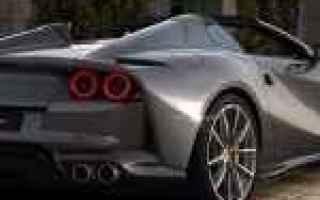 Arriva la nuova Ferrari Spider, la 812 GTS. Dopo tanti anni un 12 cilindri posizionato anteriormente