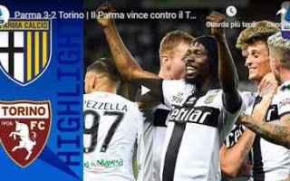 Serie A: parma torino video gol calcio