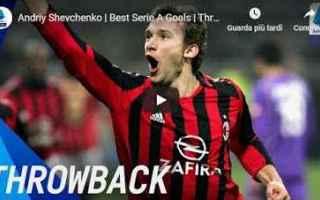 Serie A: milan gol video serie a shevchenko
