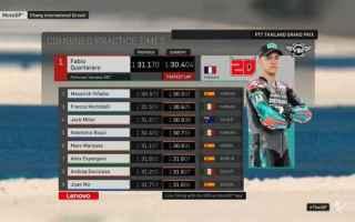 Le Yamaha si confermano velocissime nel time attack, con Vinales davanti a tutti nelle Fp1 a cui ha