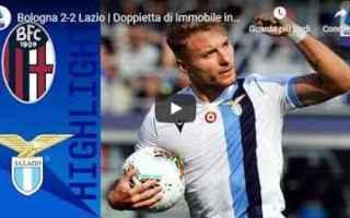 Serie A: bologna lazio video gol calcio