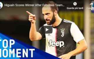 Serie A: juventus juve calcio video higuain