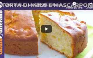 Ricette: ricetta torta mele mascarpone video