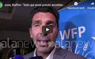 Serie A: juventus juve calcio video buffon