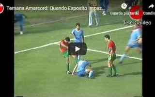 Serie minori: ternana video shock rissa calcio