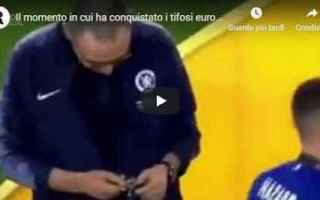 calcio sarri video chelsea europa league
