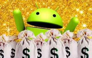 Android: soldi guadagnare premi gift card android