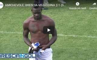 Calcio: brescia scontri video amichevole calcio