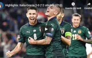 italia grecia video gol calcio