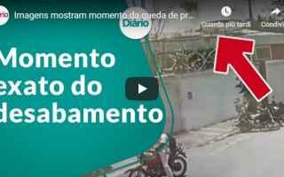 dal Mondo: disastro fortaleza brasile video oggi
