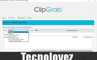clipgrab  scaricare e convertire