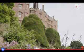 Architettura: castelli  galles  inghilterra  siepi