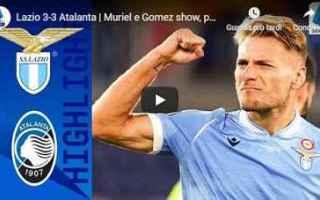 Serie A: lazio atalanta video gol calcio