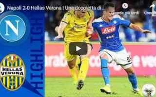 Serie A: napoli verona video gol calcio