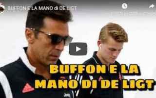 Calcio: gli autogol video buffon de ligt juve