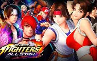 Mobile games: king of fighters android videogame gioco