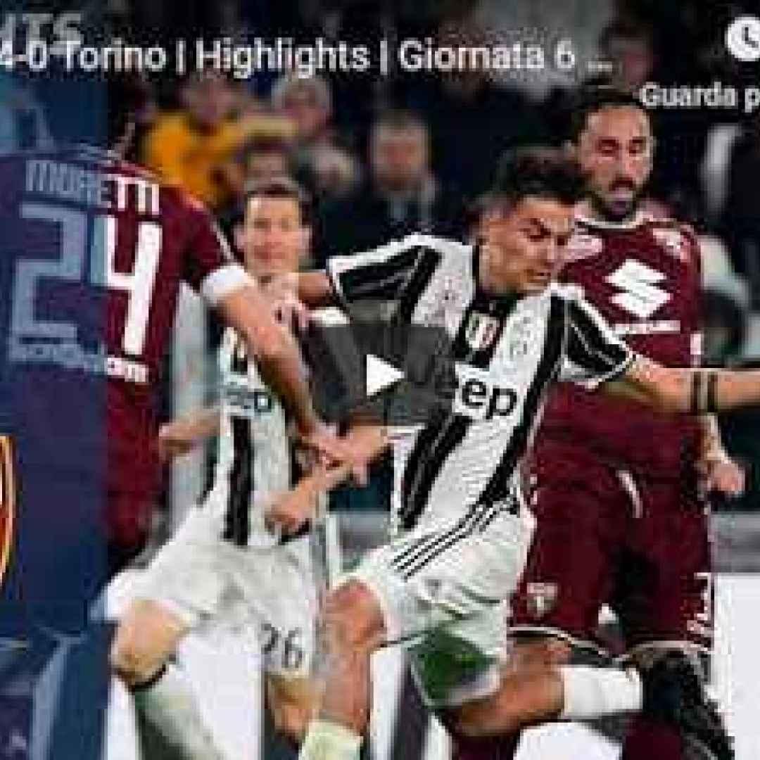 juventus torino video calcio gol