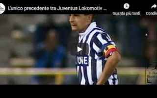 Europa League: juventus juve calcio video baggio