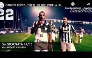 Serie A: juventus juve calcio video tevez