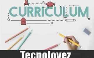 cv europass curriculum vitae modello