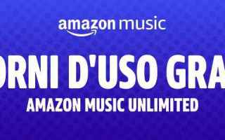 Amazon: amazon music unlimited  amazon  offerta