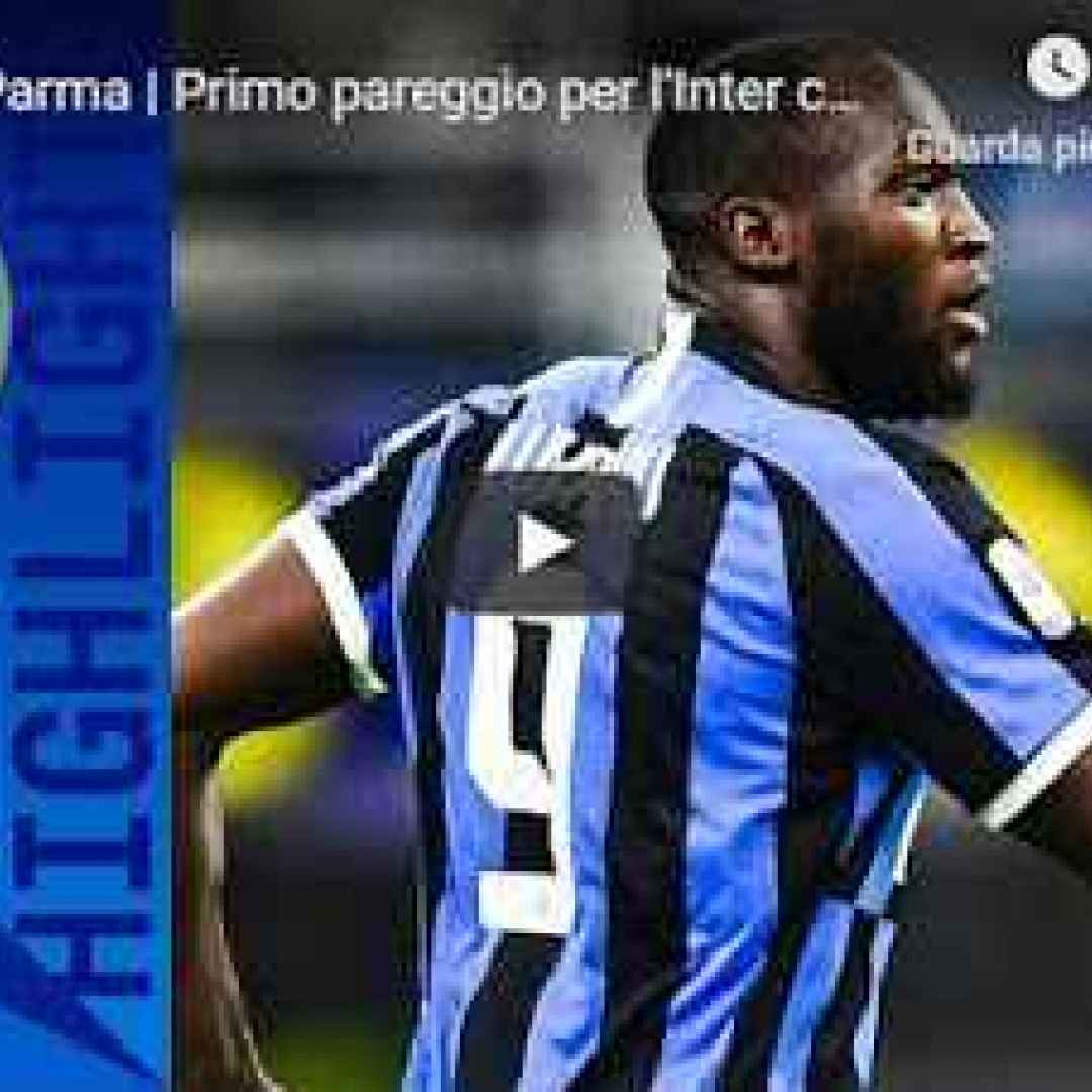 inter parma video gol calcio