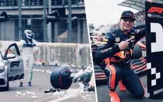 Formula 1: formula 1  messico  verstappen  leclerc