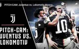 Champions League: juventus juve calcio video lokomotiv