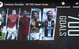 Calcio: ronaldo cr7 juventus juve video