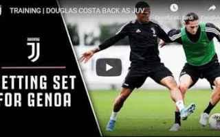 Serie A: juventus juve calcio video douglas costa