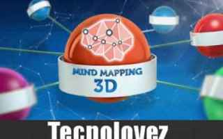 App: mind mapping 3d app