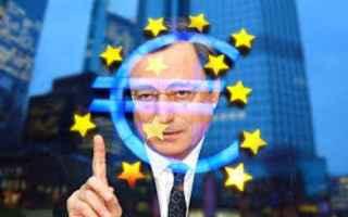 Economia: mario draghi  bce  euro