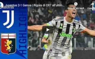 Serie A: juventus genoa video calcio gol