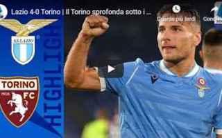 Serie A: lazio torino video gol calcio