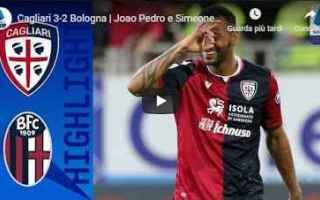 Serie A: cagliari bologna video gol calcio
