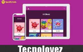 App: spotify kids app bambini