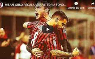 Serie A: milan video stefano borghi calcio sport