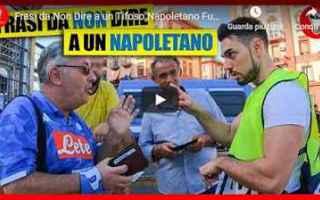 Calcio: napoli video theshow candid camera