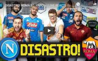 Calcio: tifosi roma napoli video fius gamer