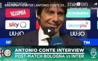 Serie A: bologna inter video antonio conte